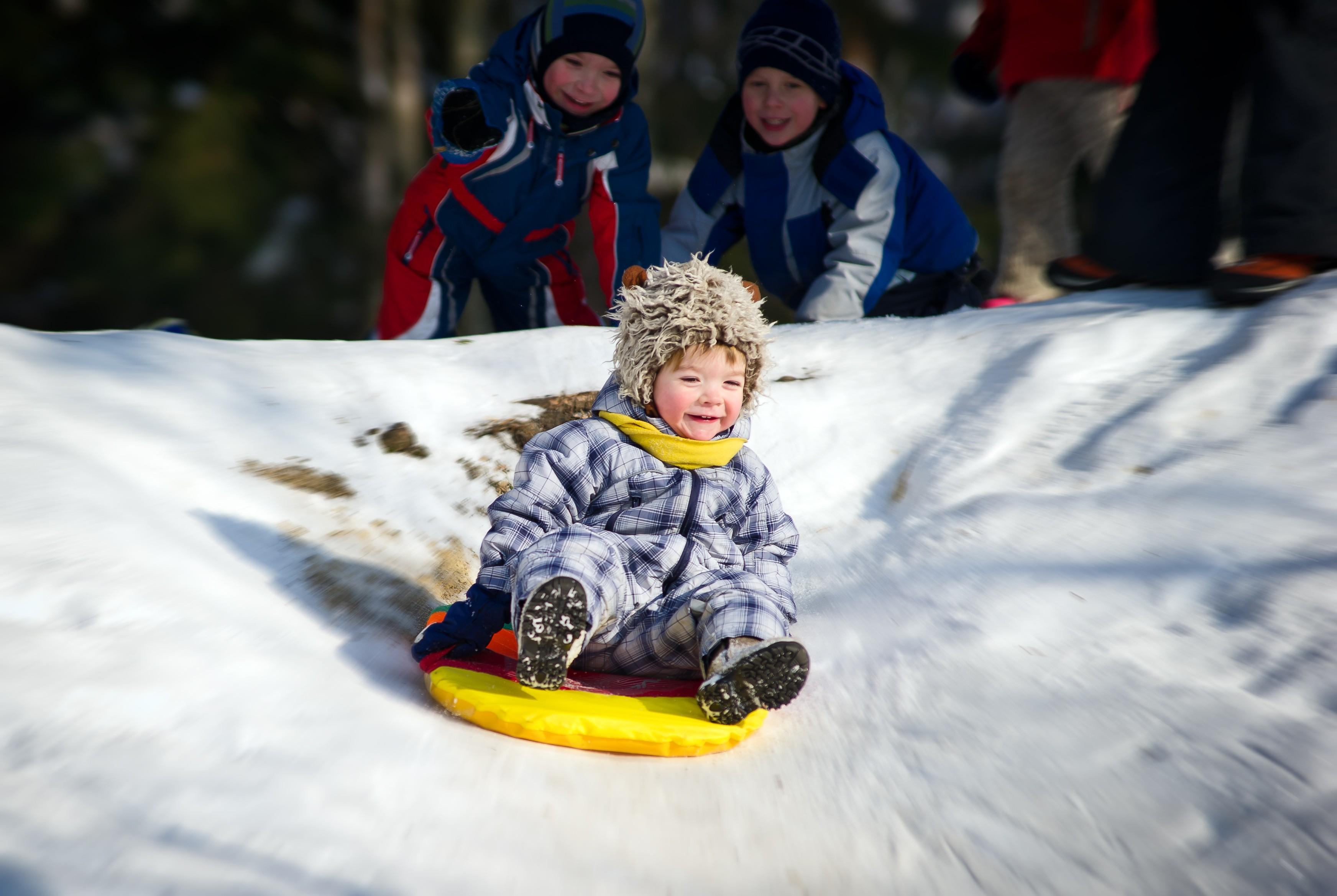 За що діти обожнюю ть зимові канікули? Позитивчик