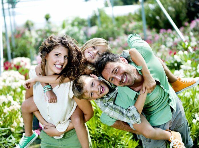 Семейная фотосессия - 12 интересных идей.