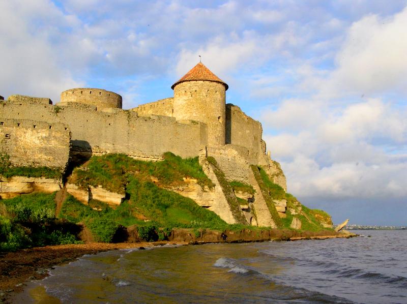 Замки і крепости Украины. Аккерманская крепость
