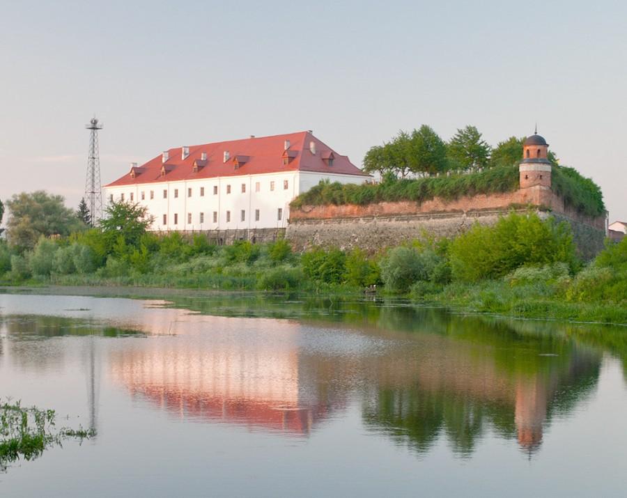 Замки Украины. Дубенский замок