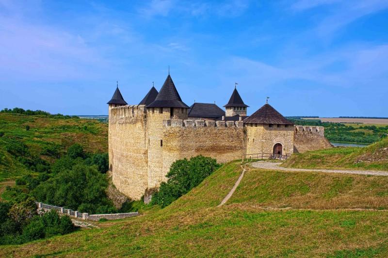 Крепости Украины. Хотинская крепость