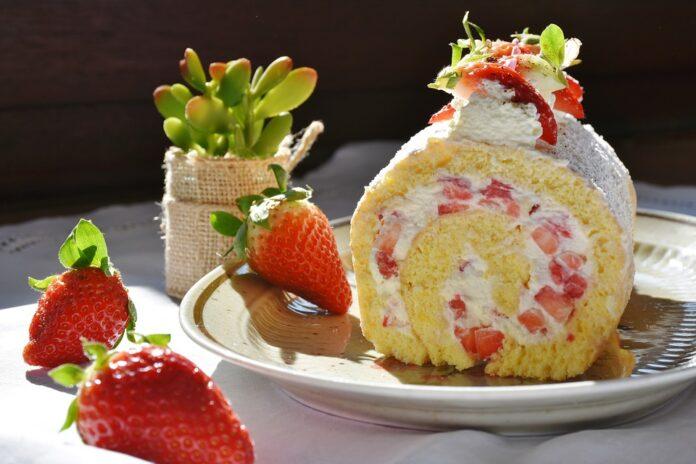 Десерти з полуниці