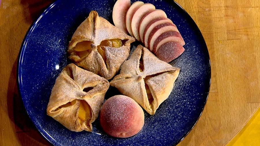 десерт из персиков свежих для детей