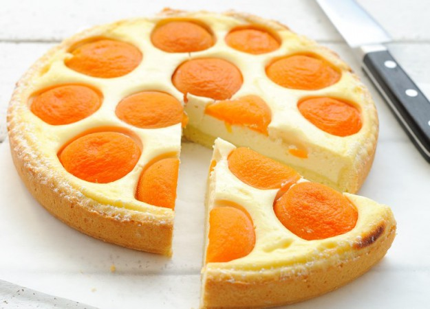 Персиковый десерт для детей