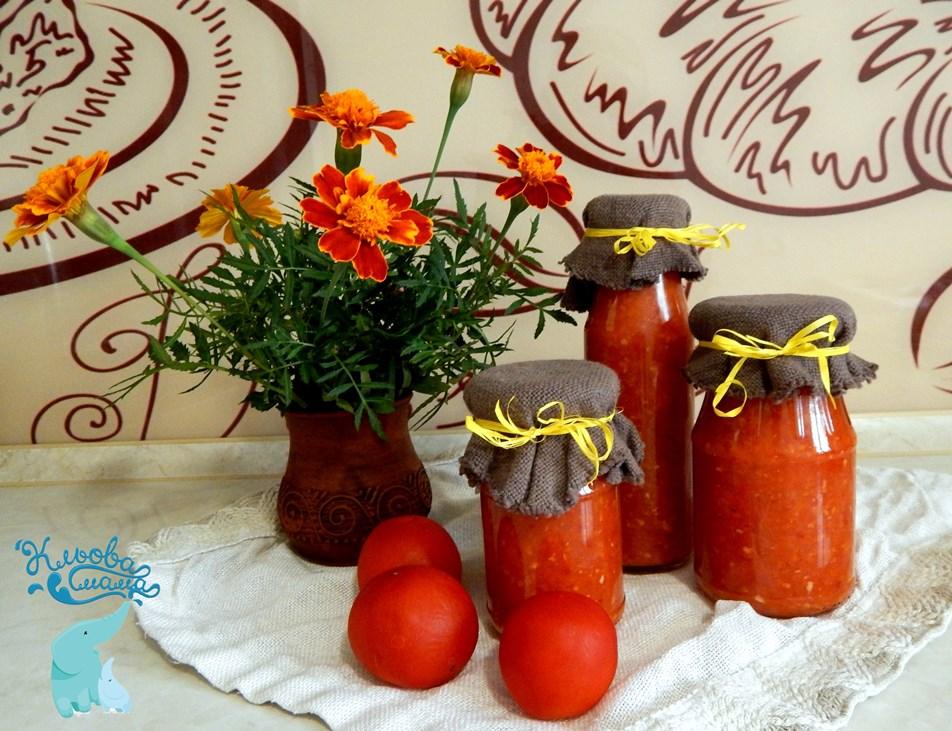 аджика з помідор