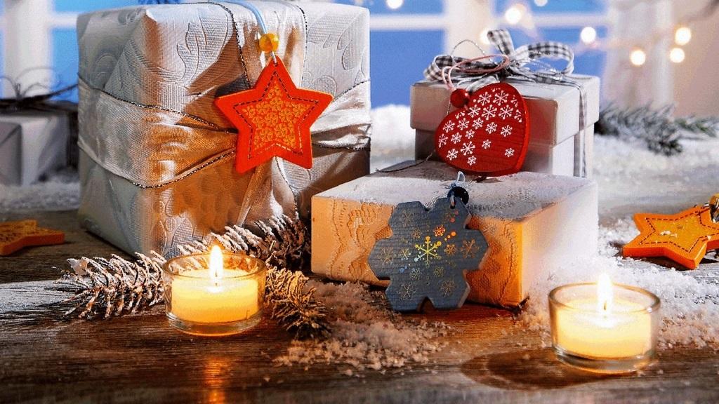 Подарунки на Новий Рік своїми руками упаковка