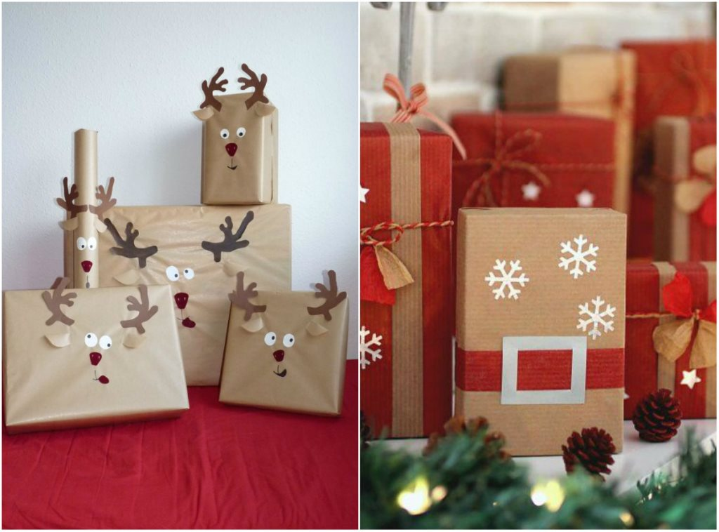 Подарки на Новый Год своими руками как упаковать