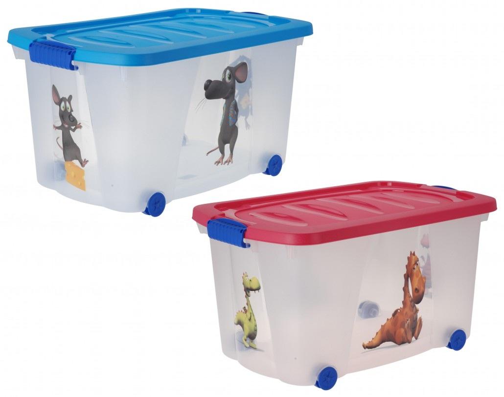 ящик для іграшок на колесах