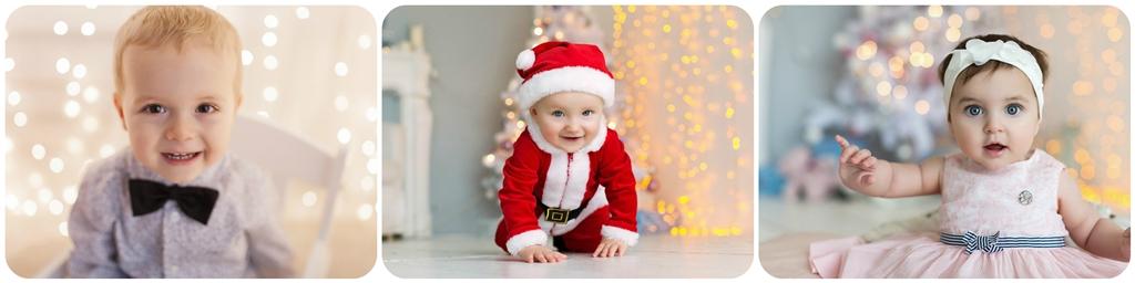 Дитяча новорічна фотосесія