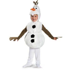 Дитячі новорічні костюми сніговик