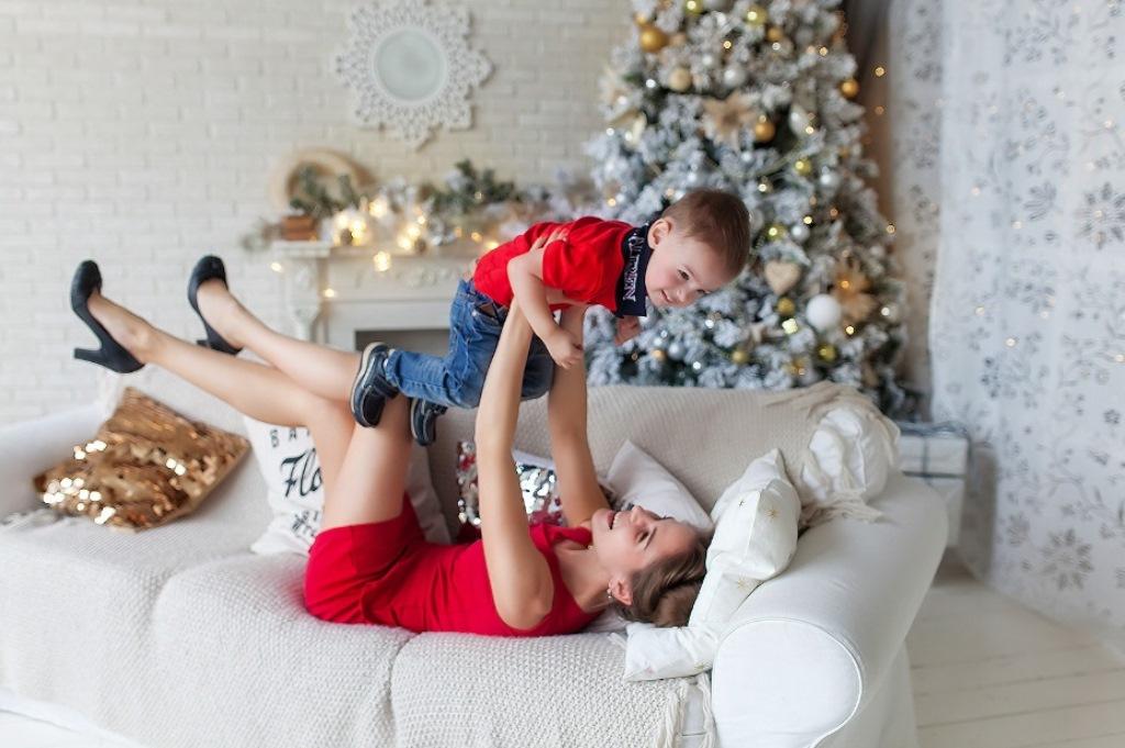 Сімейні новорічні фото