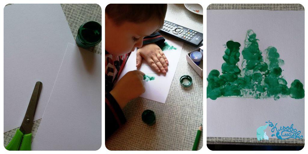 новогодние открытки своими руками с детьми