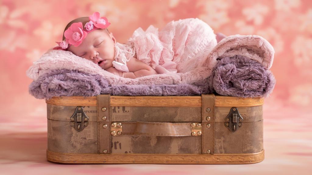 первая фотосессия ребенка