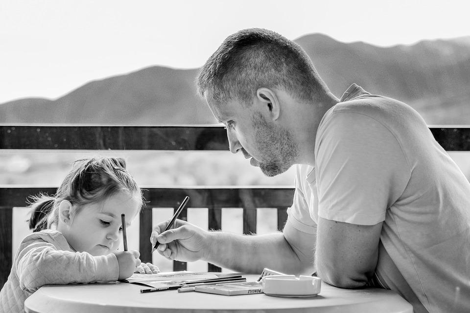 роль папы в воспитании дочери