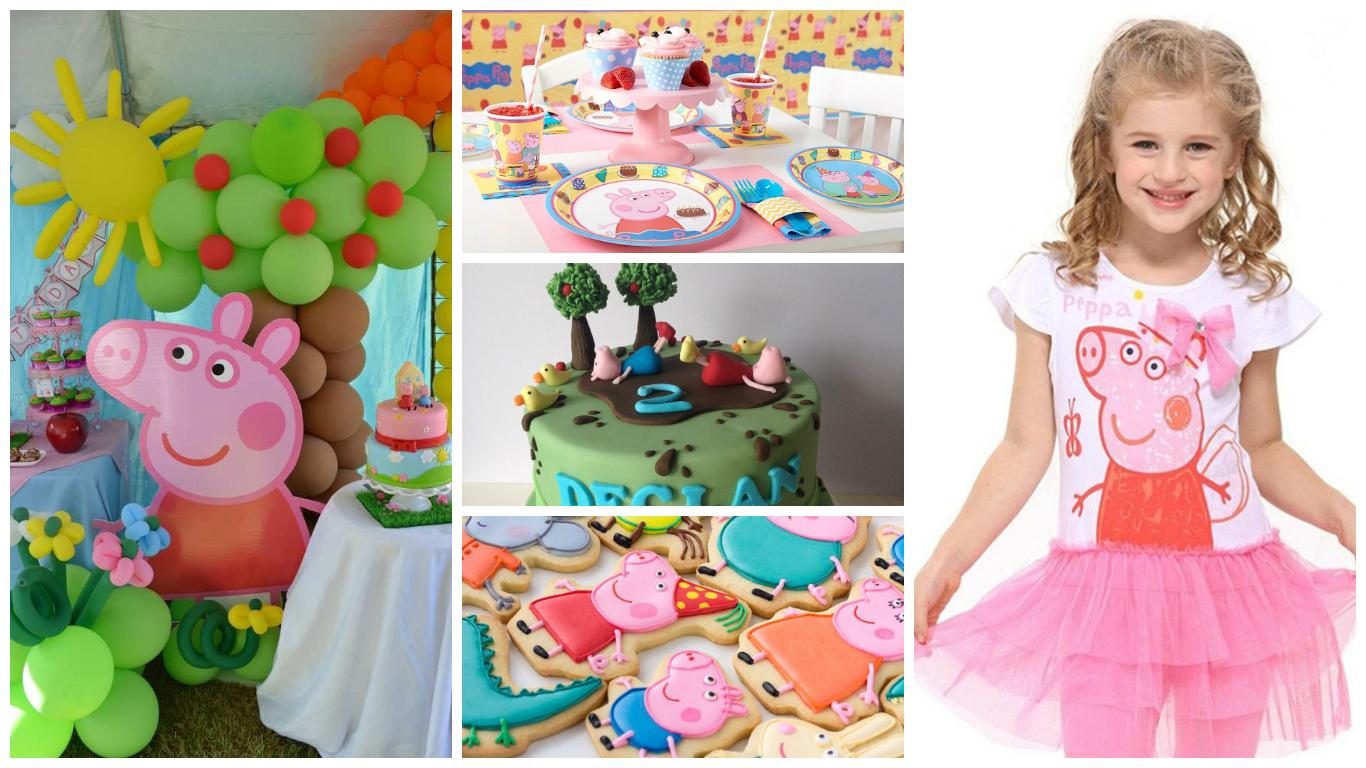 Дитячий день народження дівчинки в стилі свинка пеппа