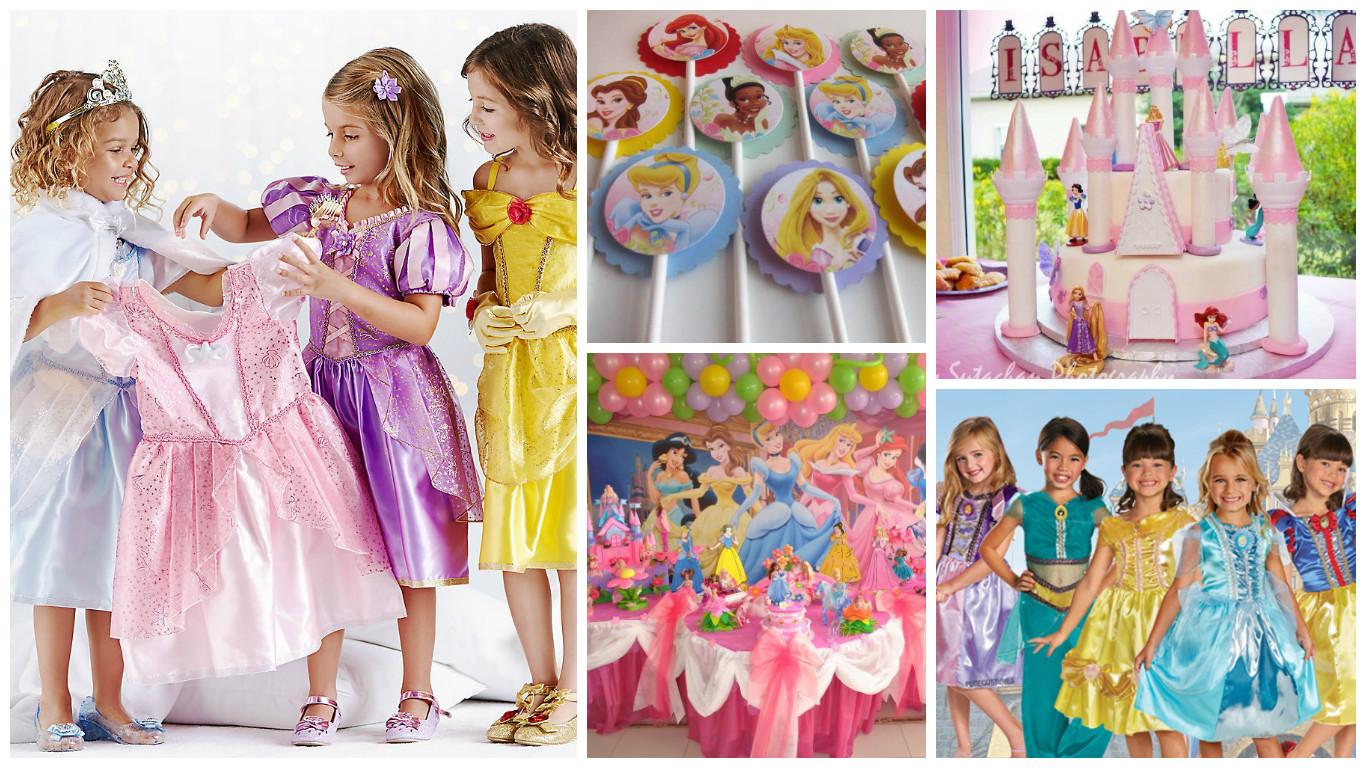 Дитячий день народження дівчинки в стилі Принцеса Софія