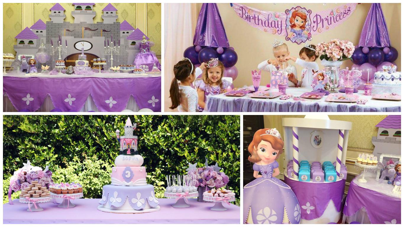 Дитячий день народження дівчинки в стилі Софія Прекрасна