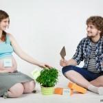 Семейная фотосессия - 12 интересных идей. В ожидании малыша
