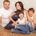 Семейная фотосессия - 12 интересных идей. Семейная фотосксия джинс стайл