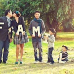 Семейная фотосессия - 12 интересных идей. Ну-ка дружно станем в ряд