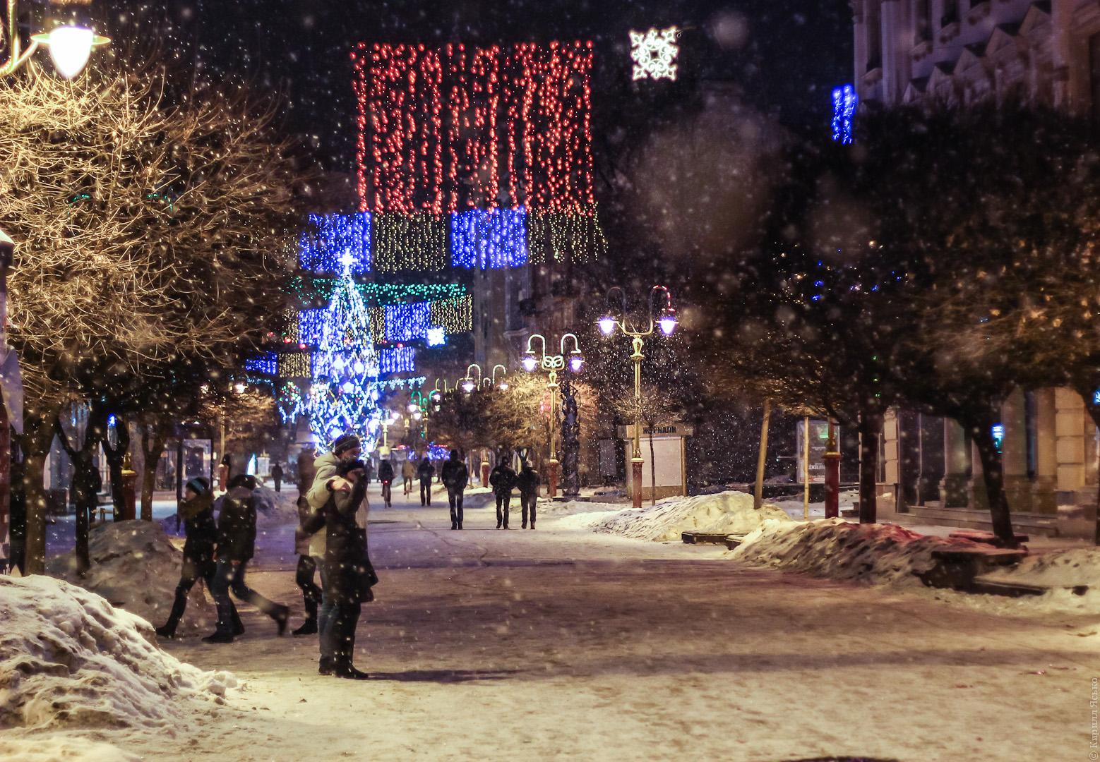 Куда поехать с ребенком на зимние каникулы в Украине? Ивано-Франковск