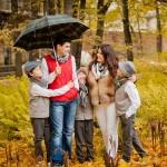 Семейная фотосессия — 12 интересных идей. Золотая осень