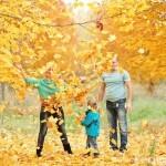 Сімейна фотосесія - 12 цікавих ідей. Золота осінь