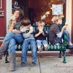 Семейная фотосессия - 12 интересных идей. Семейный перекус