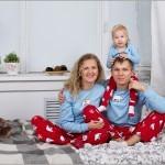 Семейная фотосессия - 12 интересных идей. Семейная пижамная вечеринка