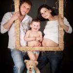 Семейная фотосессия - 12 интересных идей. Фотосесия с рамочками