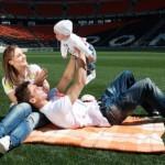 Семейная фотосессия - 12 интересных идей. Спотривная фотосесия