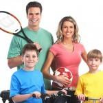 Сімейна фотосесія - 12 цікавих ідей. Спортивна фотосесія