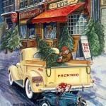 Вінтажні різдвяні листівки