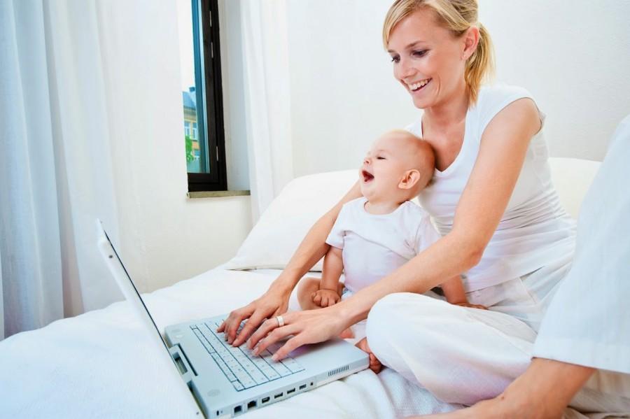 Работа копирайтером в декрете для мам