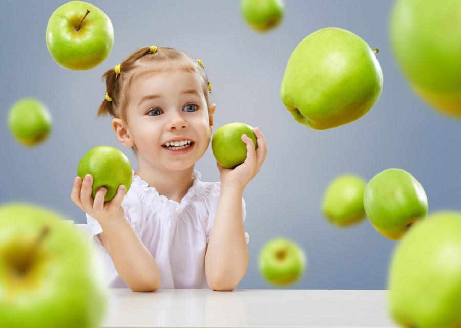Яблука в дитячому харчуванні