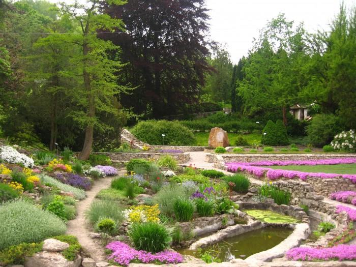 Ботанический сад. Кременец
