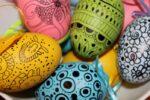 Оздоблення великодніх яєць. Маркери та фломастери