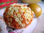 Украшение пасхальных яиц. Семена, крупы и макароны