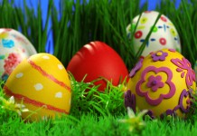 Оздоблюємо великодні яйця з дітьми