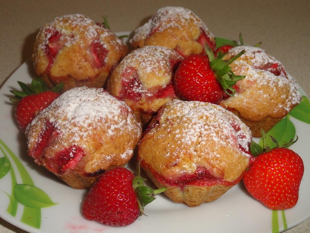 Десерты из клубники для детей