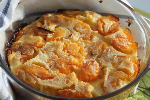 десерти з абрикосів свіжих для дітей