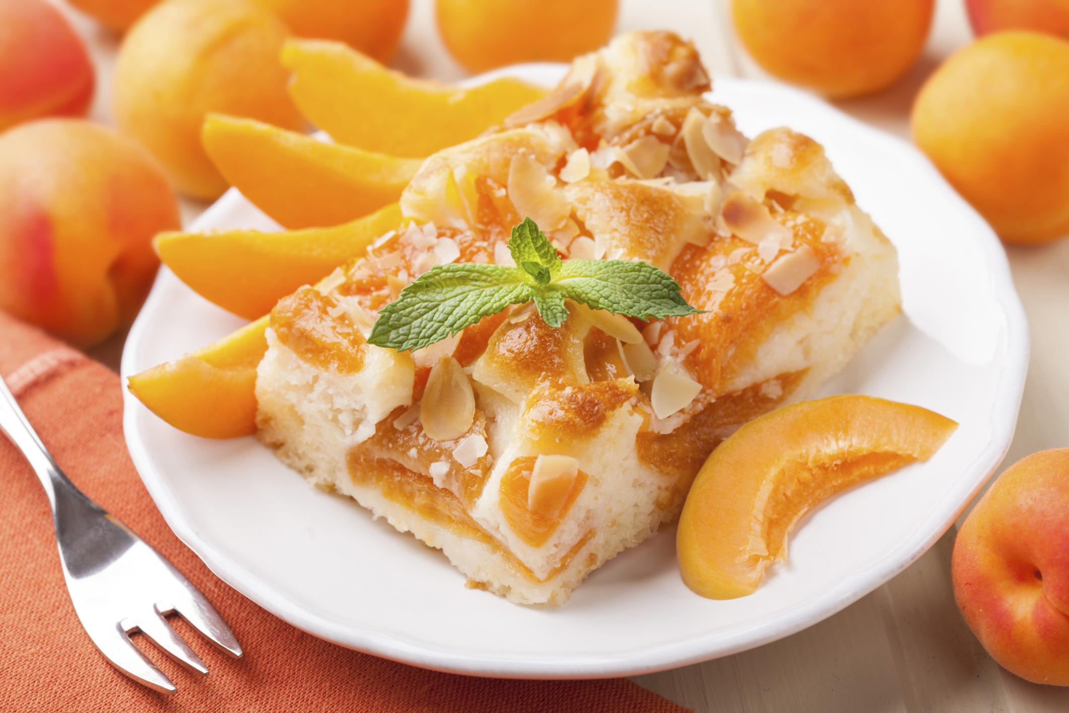 Десерты из абрикосов для детей