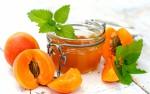 Десерты из абрикосов и персиков для детей