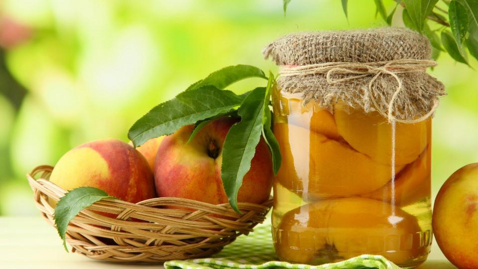 рецепты из персиков