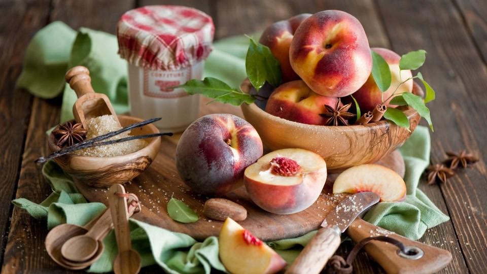 консервація персиків