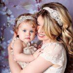 mini me мама и дочь