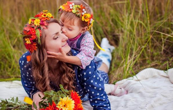 віночки для мами і дочки