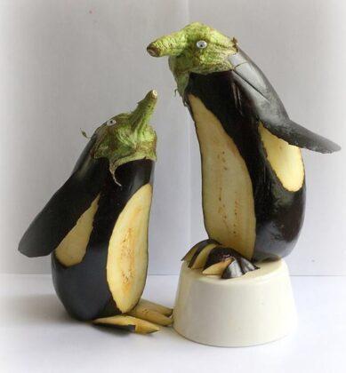 осінні саморобки з овочів