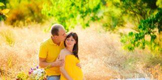 фотосесія вагітних на природі