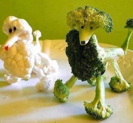 саморобки з овочів